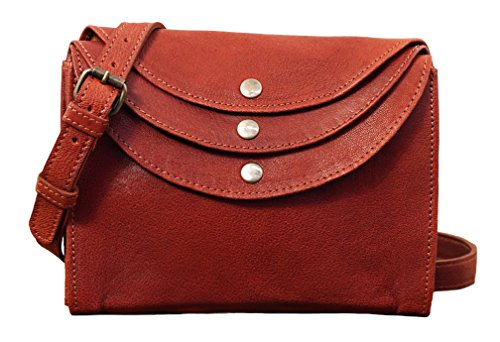 vintage LA Brown adjustable clutch leather Middle MINAUDIRE MARIUS PAUL strap bag style rYxnYp
