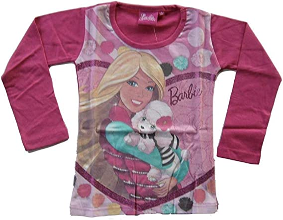 Barbie de manga larga para en 2 colores: Amazon.es: Ropa y accesorios