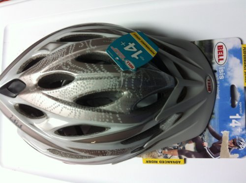 Bell Isis Adult Helmet Performance Series Advanced Rider 14+ Silver For Sale
