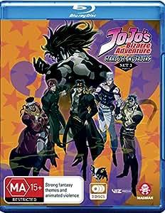 Jojo's Bizarre Adventure Set 3: Stardust Crusaders Part 2 (Eps 25-52) (Blu-ray)
