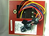 T694A2002 Fan Coil Thermostat Heating/Cooling 40-90F 3 Speed Fan/Switching