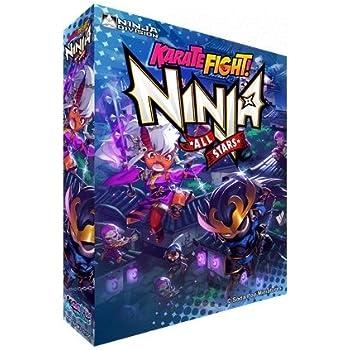 Amazon.com: Karate Fight Ninja All Stars Edition Board Game ...