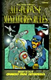All-Purpose Miniatures Rules, Paul Arden Lidbert and Greg Poehlein, 1929332106