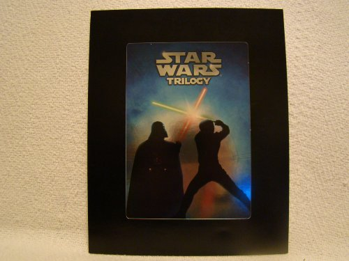Star Wars Trilogy Holographic Lithograph Out of Print