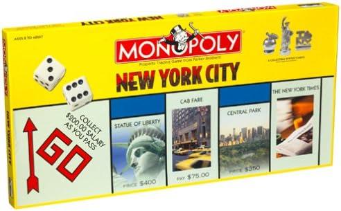 Usaopoly New York City Monopoly Game: Amazon.es: Juguetes y juegos