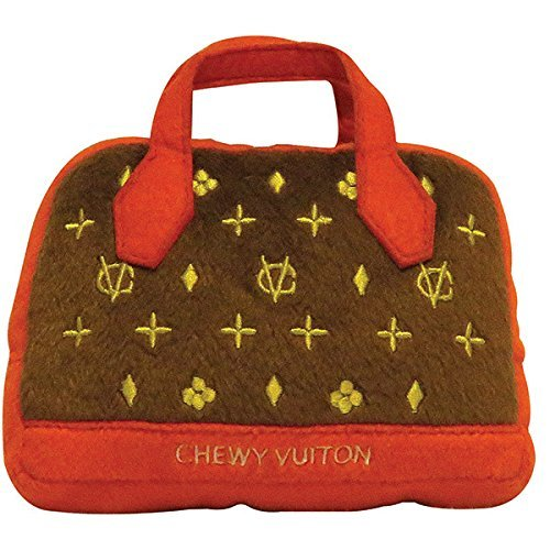 Chewy Vuiton Posh Purse Chew Toy Large by Dog Diggin Designs