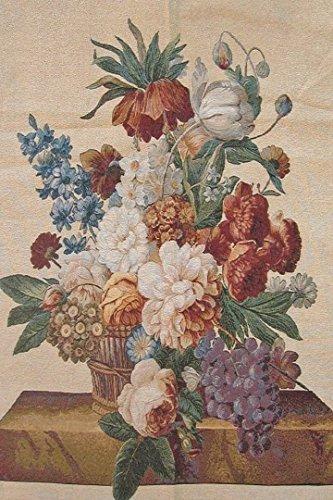 DaDa Bedding Autumn Banquet French Floral Vase Fruit