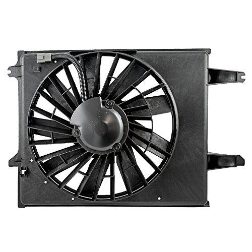 Mercury Villager Radiator Cooling Fan - Radiator Cooling Fan Motor Shroud Assembly for 96-98 Nissan Mercury Van 21481-1B000