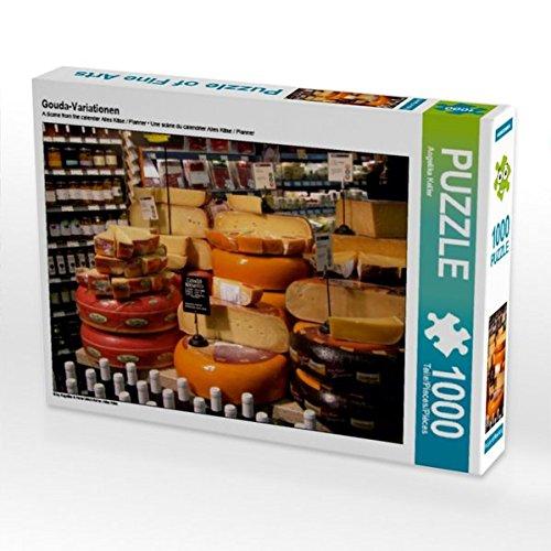 CALVENDO Puzzle Gouda-Variationen 1000 Teile Lege-Größe 64 x 48 cm Foto-Puzzle Bild von Angelika Keller B01KRQGGNQ Klassische Puzzles Großer Räumungsverkauf   Produktqualität