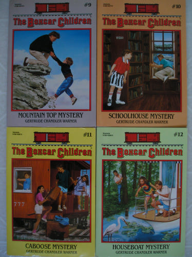 The Boxcar Children Mysteries #9-12 - Book  of the Boxcar Children