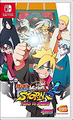 Nintendo Switch Naruto Shippuden Ultimate Ninja Storm 4 Road To Boruto Nintendo Switch Amazon Ae