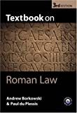 img - for Textbook on Roman Law book / textbook / text book