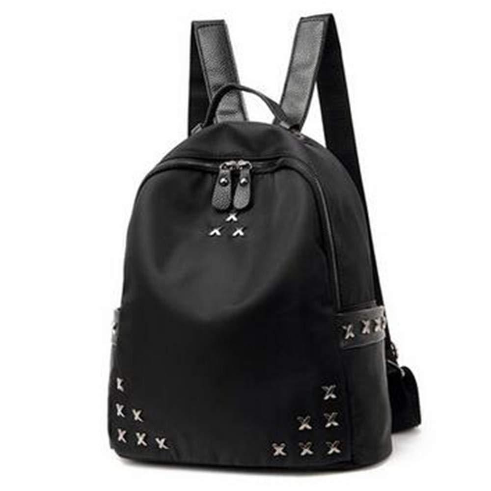 LIZHONG-SLT Women's Fashion Trend, Oxford Textile Simplified Package,Black,(Width 28cm Thickness 12cm high 34cm)