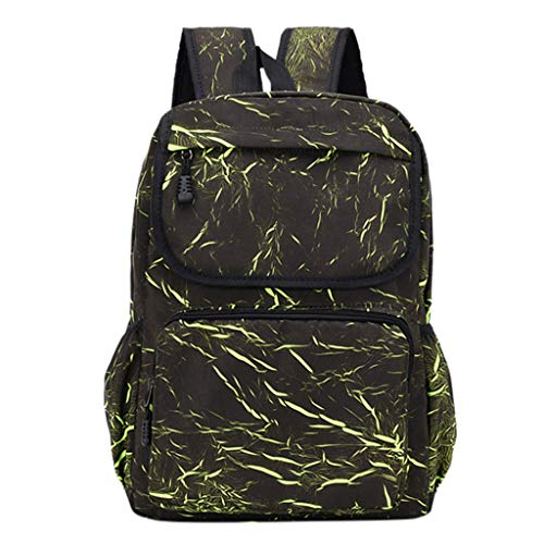 ♞Deadness-Package Laptop Backpack, Business Anti-Theft Travel Backpack with USB Charging Phone Port, Water Resistant Large Compartment College School Computer Bag Green (Landscaping Gates Willow)