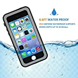 Besinpo Waterproof Case for IPhone 5/5S/SE, Underwater Full Body Cases Drop Proof with Screen Protector Cover for iphone 5/5S/SE