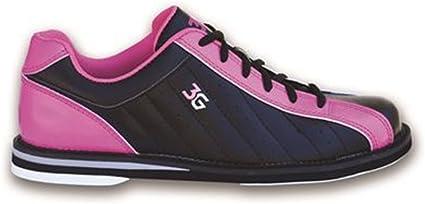 3G Ladies Kicks Bowling Shoes- Black