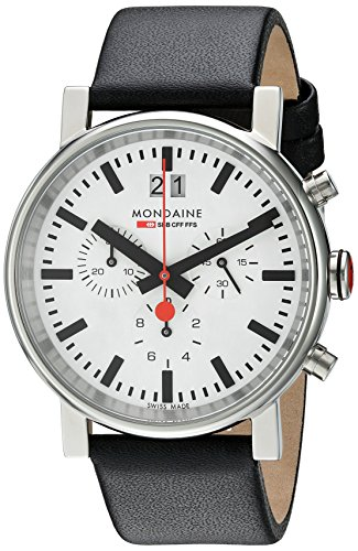 Mondaine Unisex A690.30304.11SBB Quartz Analog Chronograph Watch