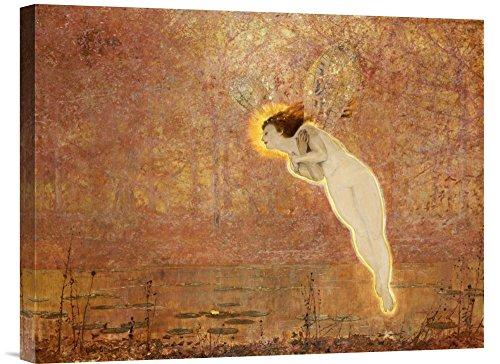 Global Gallery Budget GCS-264959-22-142 John Atkinson Grimshaw Iris Gallery Wrap Giclee on Canvas Print Wall Art