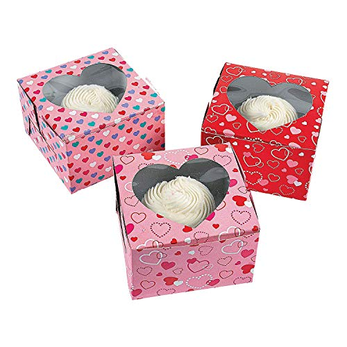 Fun Express Valentine's Day Cupcake Boxes