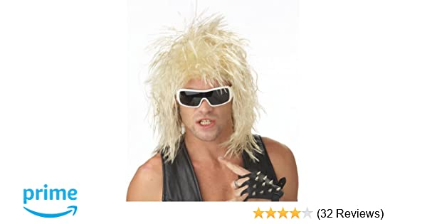 Amazon.com: California Costumes Rocking Dude Wig, Blonde, One Size: Clothing