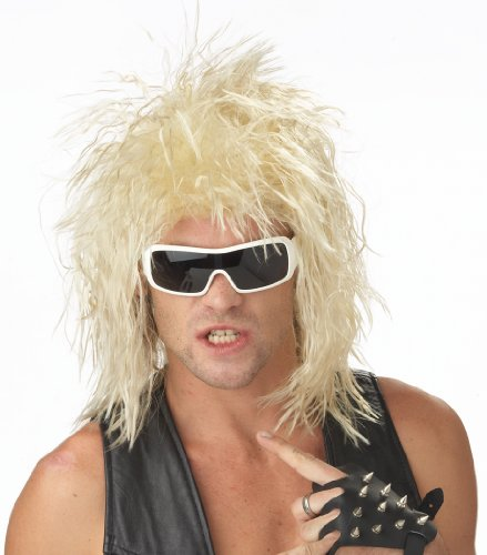 California Costumes Rocking Dude Wig, Blonde, One Size -