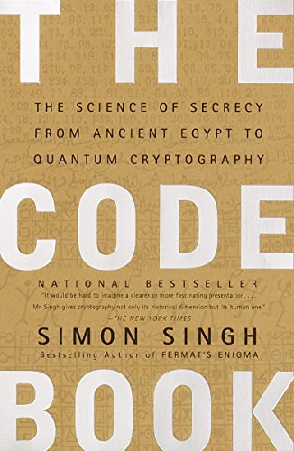 - The Code Book: The Science of Secrecy from Ancient Egypt to Quantum Cryptography