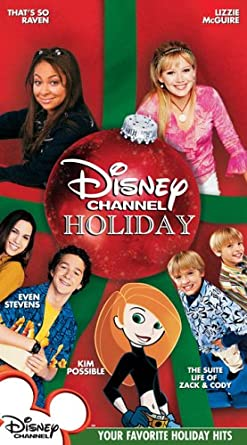 Amazon.com: Disney Channel Holiday Compilation [VHS]: Cine y TV
