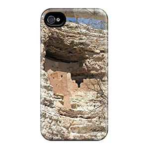 New Hill Dwellers Of Old Tpu Case Cover, Anti-scratch FeC3500bFLx Phone Case For Iphone 4/4s