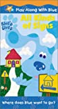 : Blue's Clues - All Kinds of Signs [VHS]