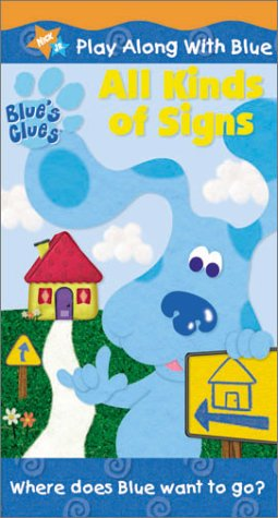- Blue's Clues - All Kinds of Signs [VHS]