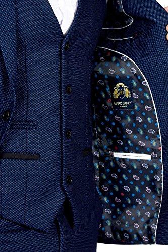 Marc Darcy - Costume - Costume - Homme bleu bleu Auditor's Target Value