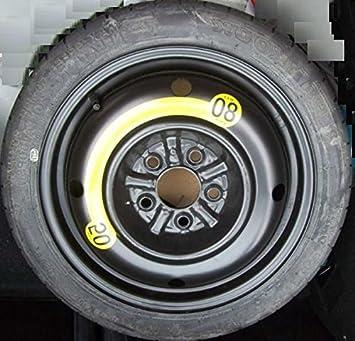 16 - 17 Hyundai Tucson 16 x 4 acero rueda y neumático de repuesto de emergencia garantía # 3037: Amazon.es: Coche y moto