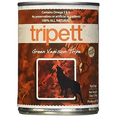 Petkind Tripett Green Venison Tripe Canned Dog Food, 13-Oz, 12 Count
