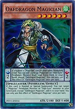 edición-de-Super Rare pevo-de016-tölpeldrachen mago Yu-Gi-Oh! 1