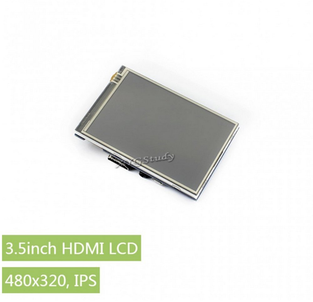 3.5 inch Resistive Touch LCD HDMI interface IPS Screen 480x320 for Raspberry Pi 3 2 Model B B+ A+ Raspbian Video Photo Display @XYGStudy