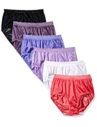 Fruit of the Loom womens 6 Pack Nylon Brief