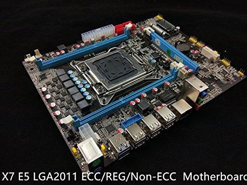 (New Intel X79 Motherboard LGA 2011 mATX DDR3 or ECC/REG USB 3.0 WiFi OC)