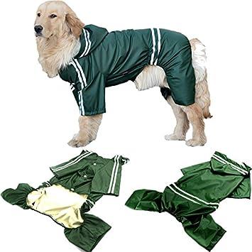 Hund Regenmantel Wasserdichte Pet Haustier Welpen Mantel 1JlFKc