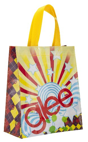 ed Lunch Bag featuring Glee Graphics, Reusable and BPA-free (Glee Paper)