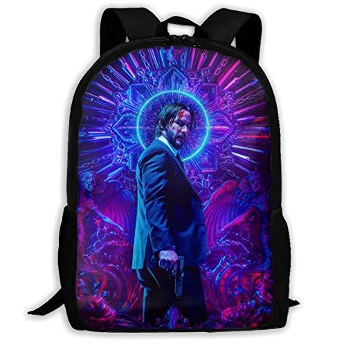Keanu-Reeves Adult Outdoor Leisure Sports Backpack And School Backpack