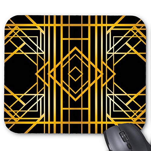 Art Deco Fountain Mouse pad 11.8 X 9.8 -