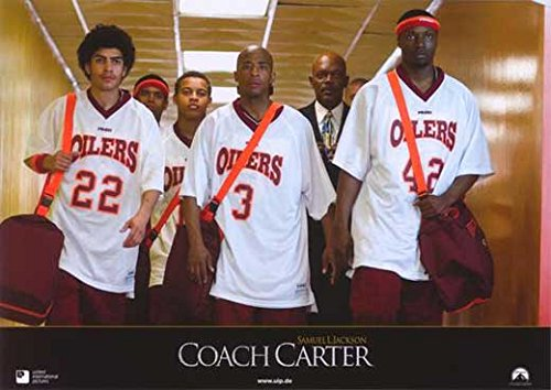 Coach Carter (11 x 14 Poster German G) POSTER (11