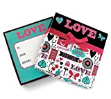 Valentines Day Gift Card Holder Box with Decorative