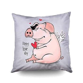 Amazon.com: KiOAO Funda de almohada de Navidad estándar de ...