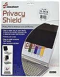 SKILCRAFT 7045-01-599-5291 Privacy Shield 3M Privacy Filter, 16:9 Aspect Ratio, 17-19/64-Inch Wide Screen