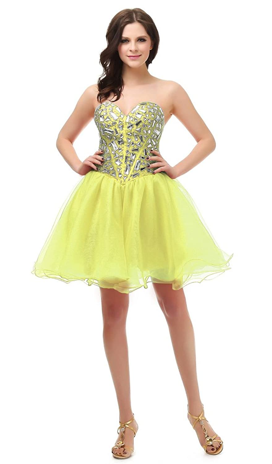 RohmBridal Sweetheart Short Prom Cocktail Party Homecoming Dress