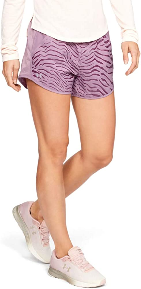 Under Armour Womens Fly-by Printed Running Shorts