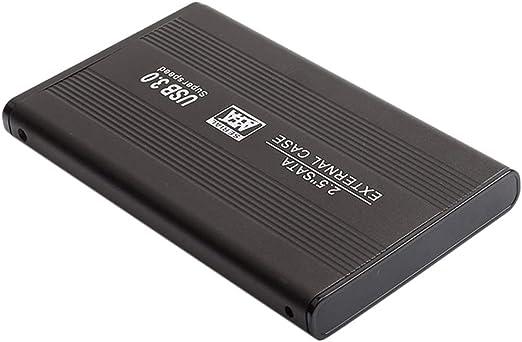 2.5インチ 外付け HDD USB 3.0 SATA ハードディスクドライブ ブラック - 2T