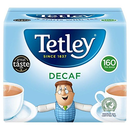 Tea Tetley Decaf (Tetley Decaf Teabags 160 per pack)