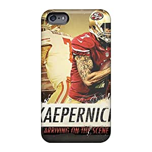 Best Cell-phone Hard Cover For Apple Iphone 6 Plus With Unique Design HD San Francisco 49ers Series Allbestcases
